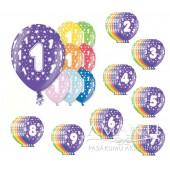 Baloni dzimšanas dienai, jubilejai