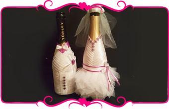 Pudeļu dekorēšana