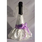 """Pudeļu dekorēšana """"Līgava"""" - BT015-2"""