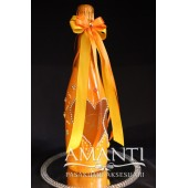 Kāzu pudeļu dekorēšana - BT017